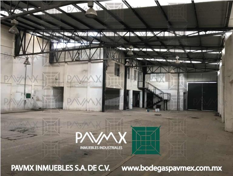 Alquiler de Naves Más de 500 mts. en Cuautitlán Izcalli Parque industrial Xhala
