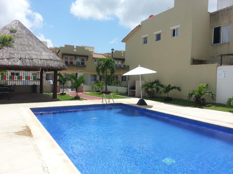 Alquiler de Casa 2 recamaras en Playa del Carmen Real Ibiza