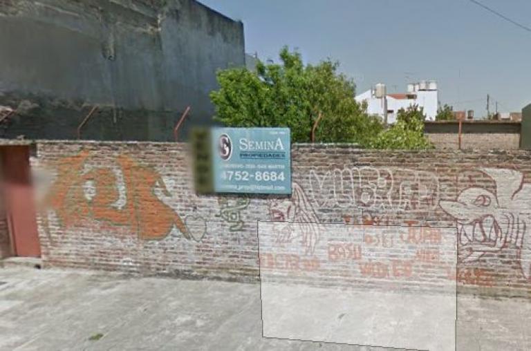 Venta de Lote De 200 a 300 mts. en General San Martín Villa Libertad