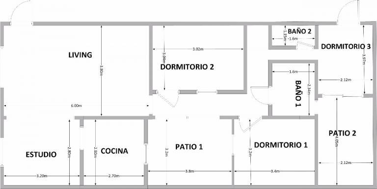 Vector House, Venta de Ph en    Palermo