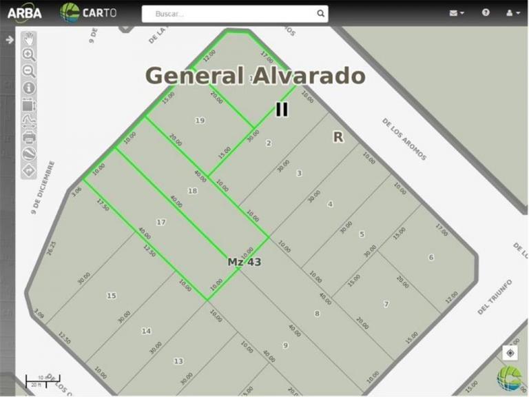 Venta de Lote Más de 500 mts. en Miramar
