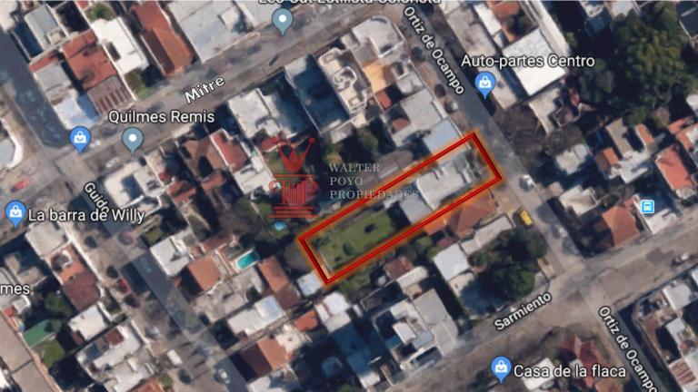 Venta de Lote De 300 a 500 mts. en Quilmes Quilmes