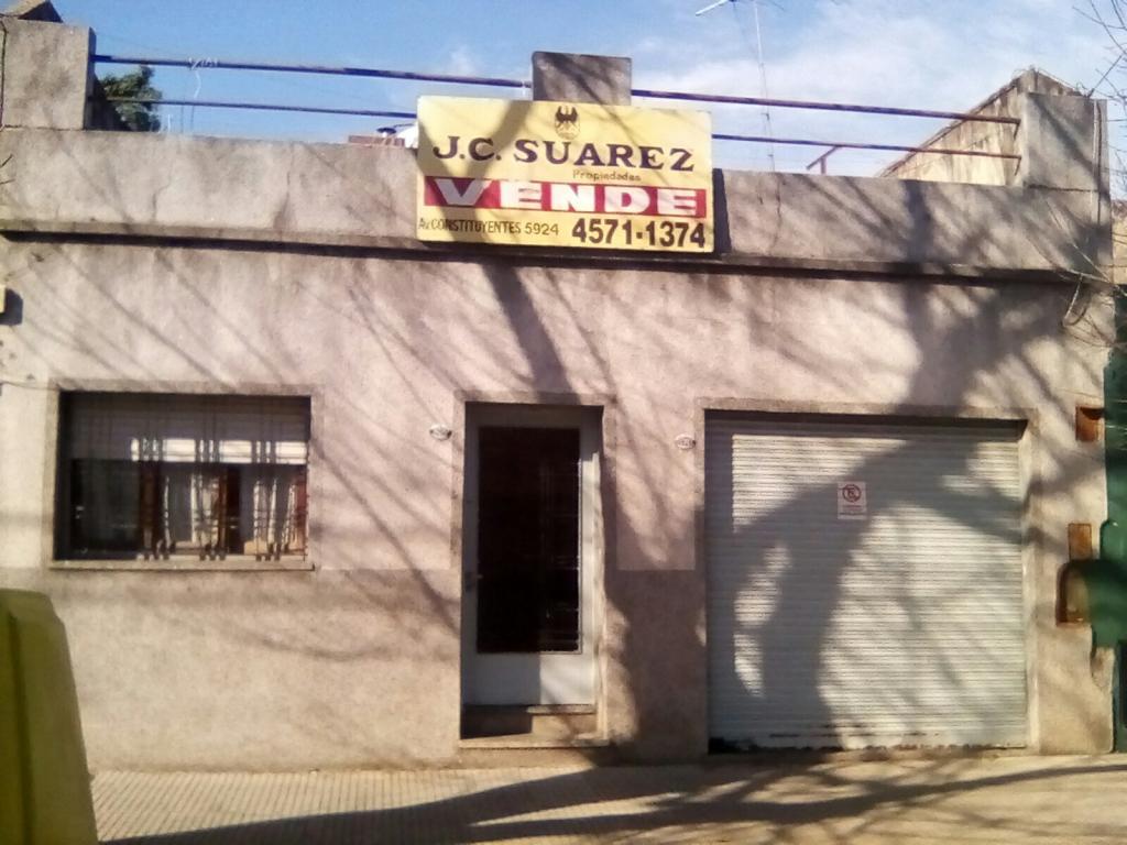 J.C. SUAREZ propiedades,  de Casa en    Villa Urquiza