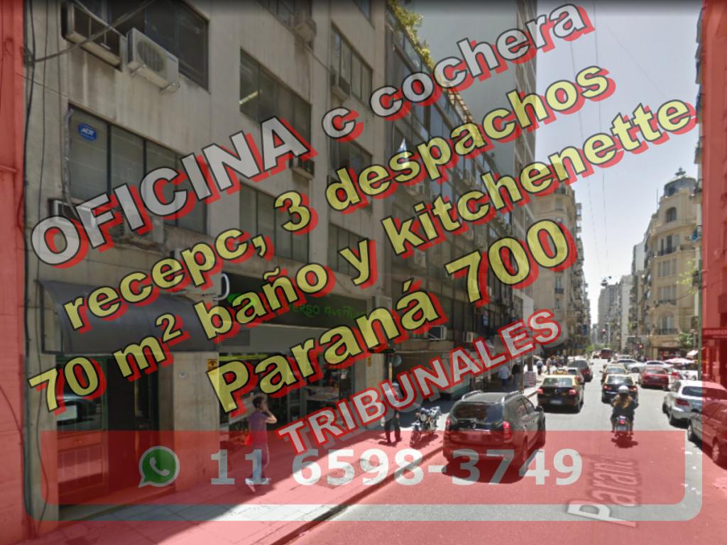 Venta de Oficina 60 a 100 mts. en Centro / Microcentro