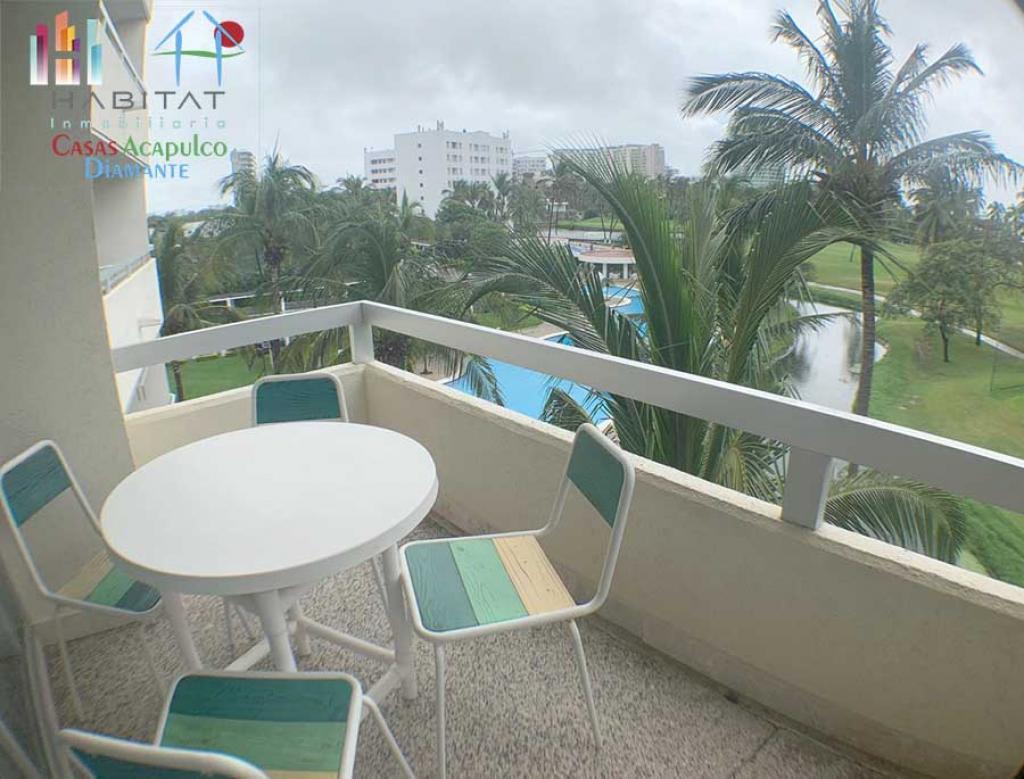 Alquiler Temporal de Departamento 3 recamaras en Acapulco Fraccionamiento Copacabana