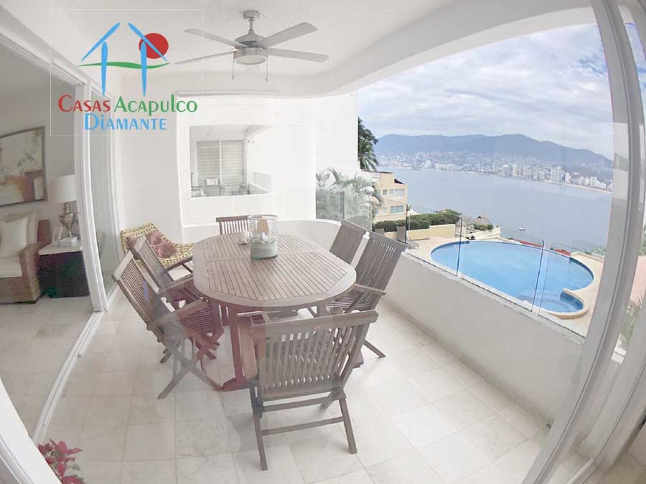 Venta de Departamento 4 ambientes en Acapulco Fraccionamiento Playa Guitarrón
