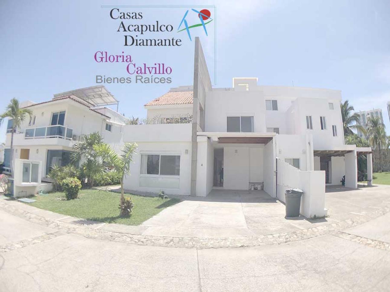 Venta de Casa en Fraccionamiento Playa Diamante   Acapulco