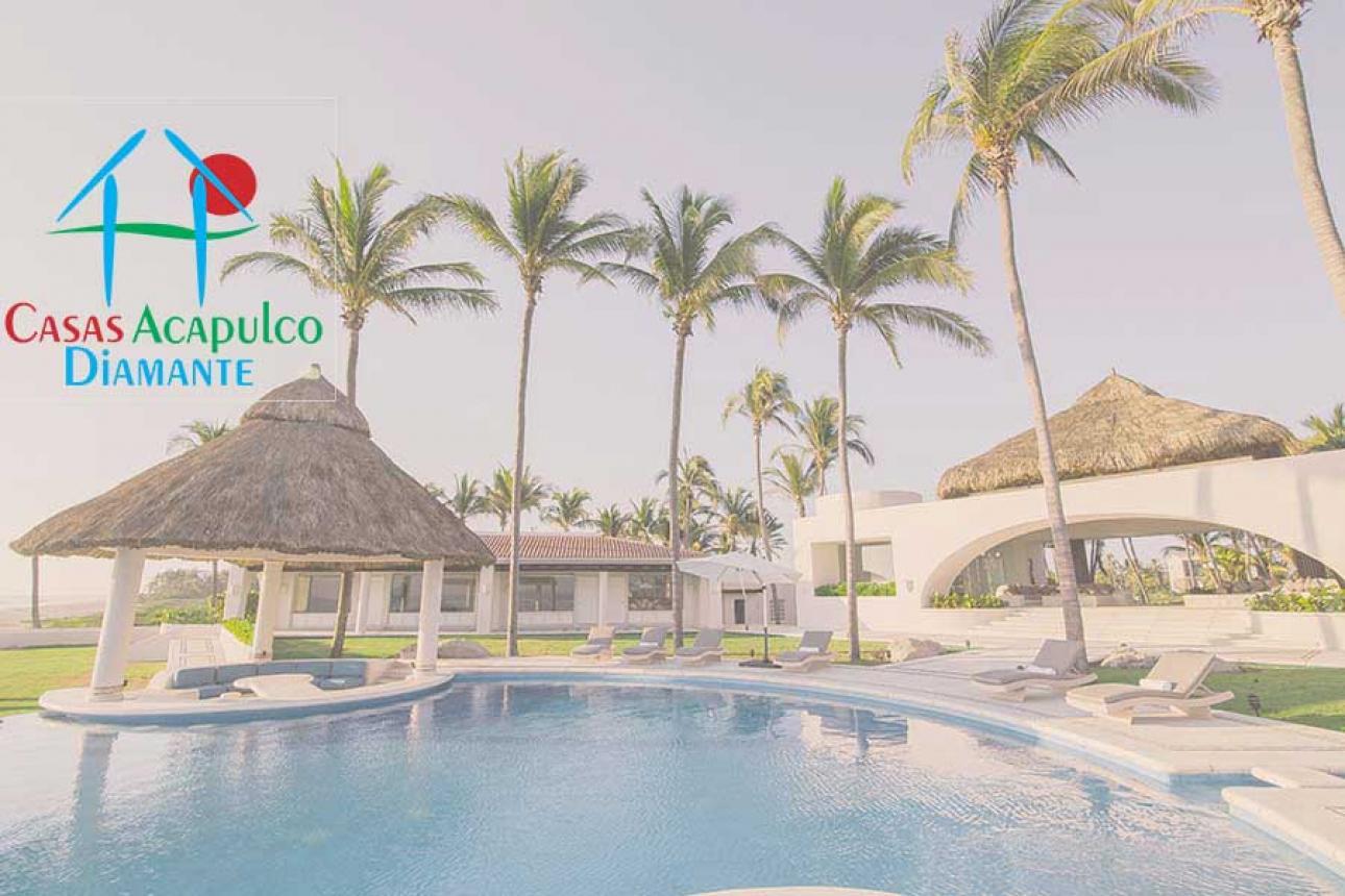 Alquiler Temporal de Casa 4 o mas recamaras en Acapulco Club de golf 3 Vidas