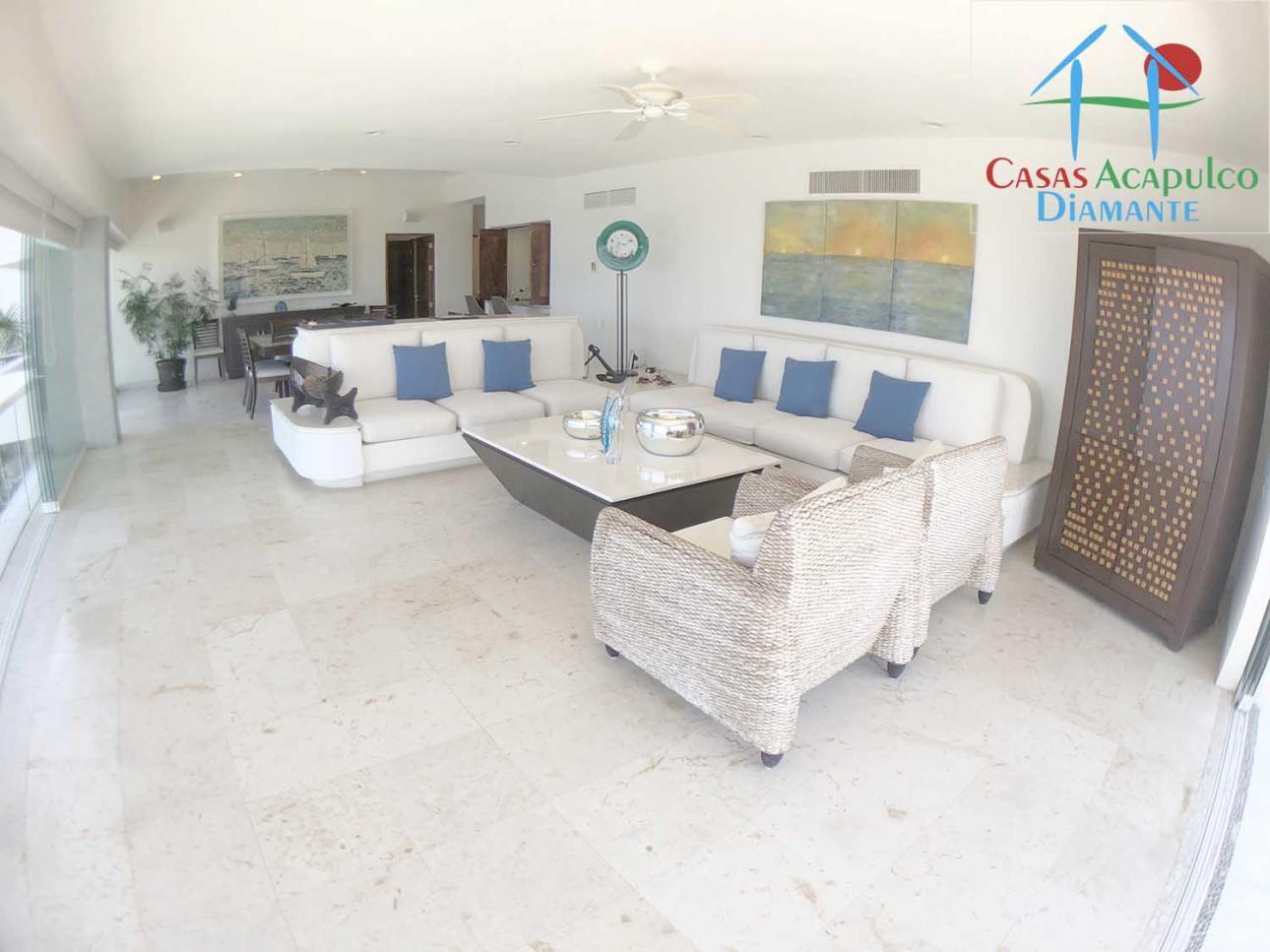 Casas Acapulco Diamante, Renta de Departamento en Fraccionamiento Real Diamante   Acapulco