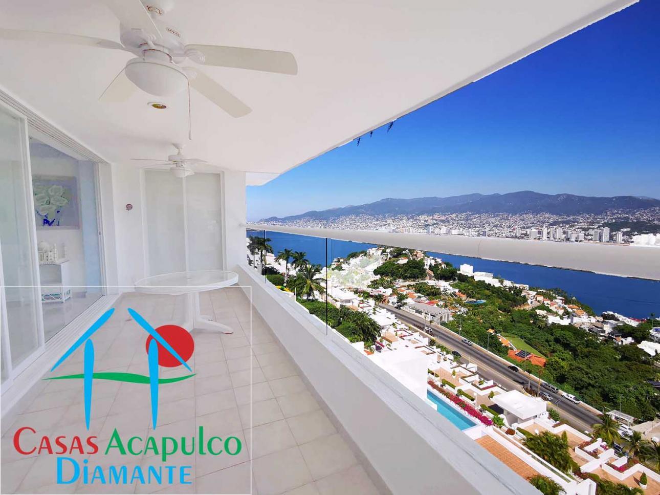 Venta de Departamento 3 recamaras en Acapulco Cumbres Llano Largo