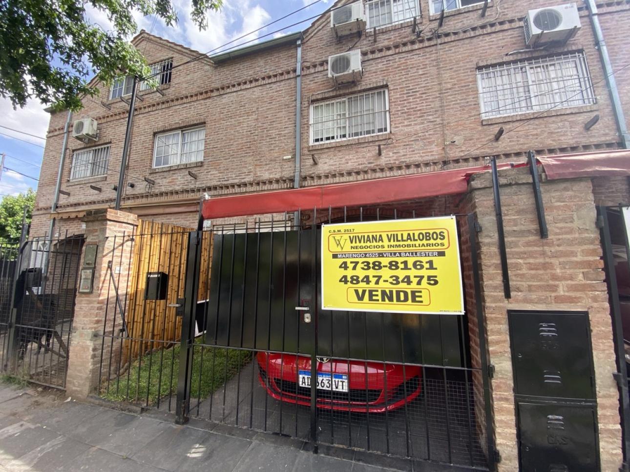 Venta de Duplex 3 ambientes en General San Martín Jose León Suarez