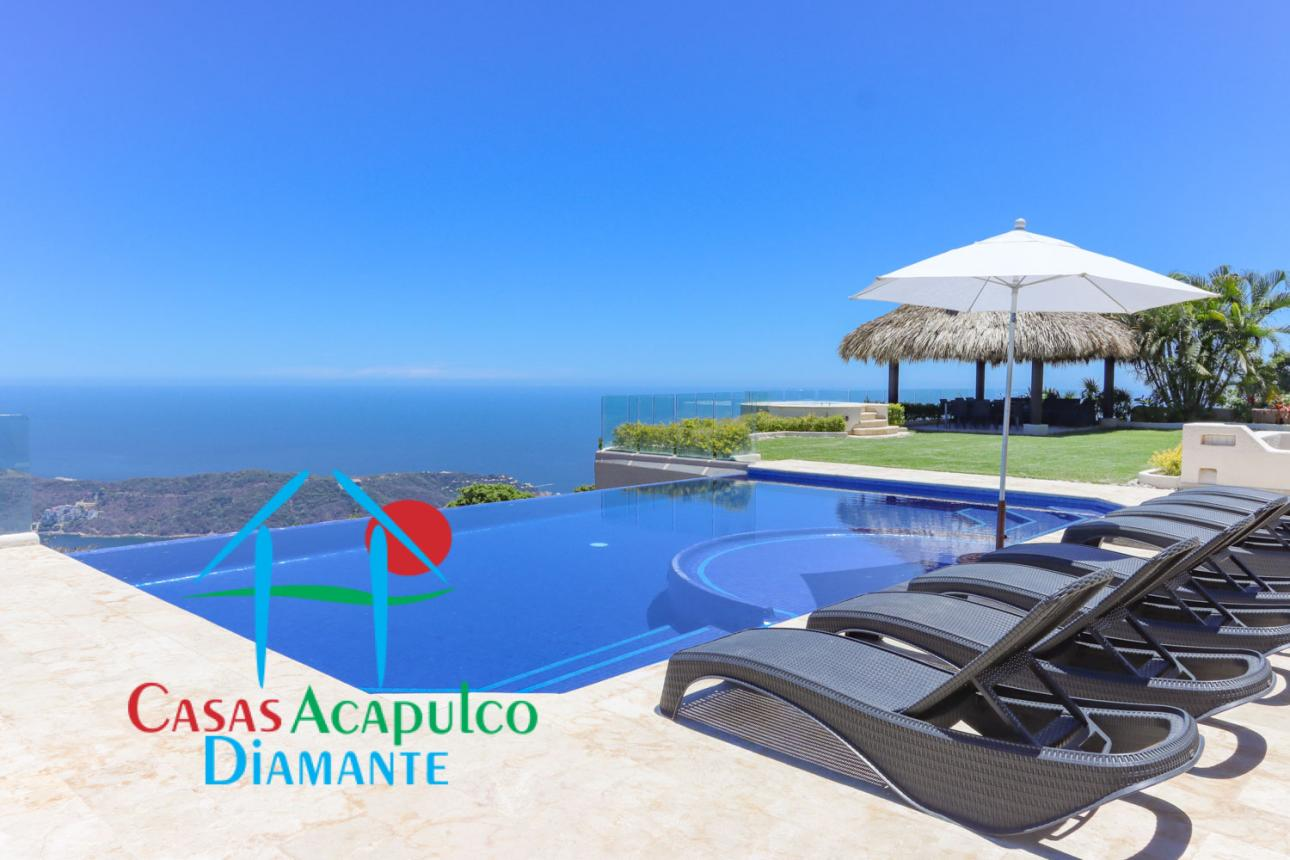 Alquiler Temporal de Casa 4 o mas recamaras en Acapulco La Cima