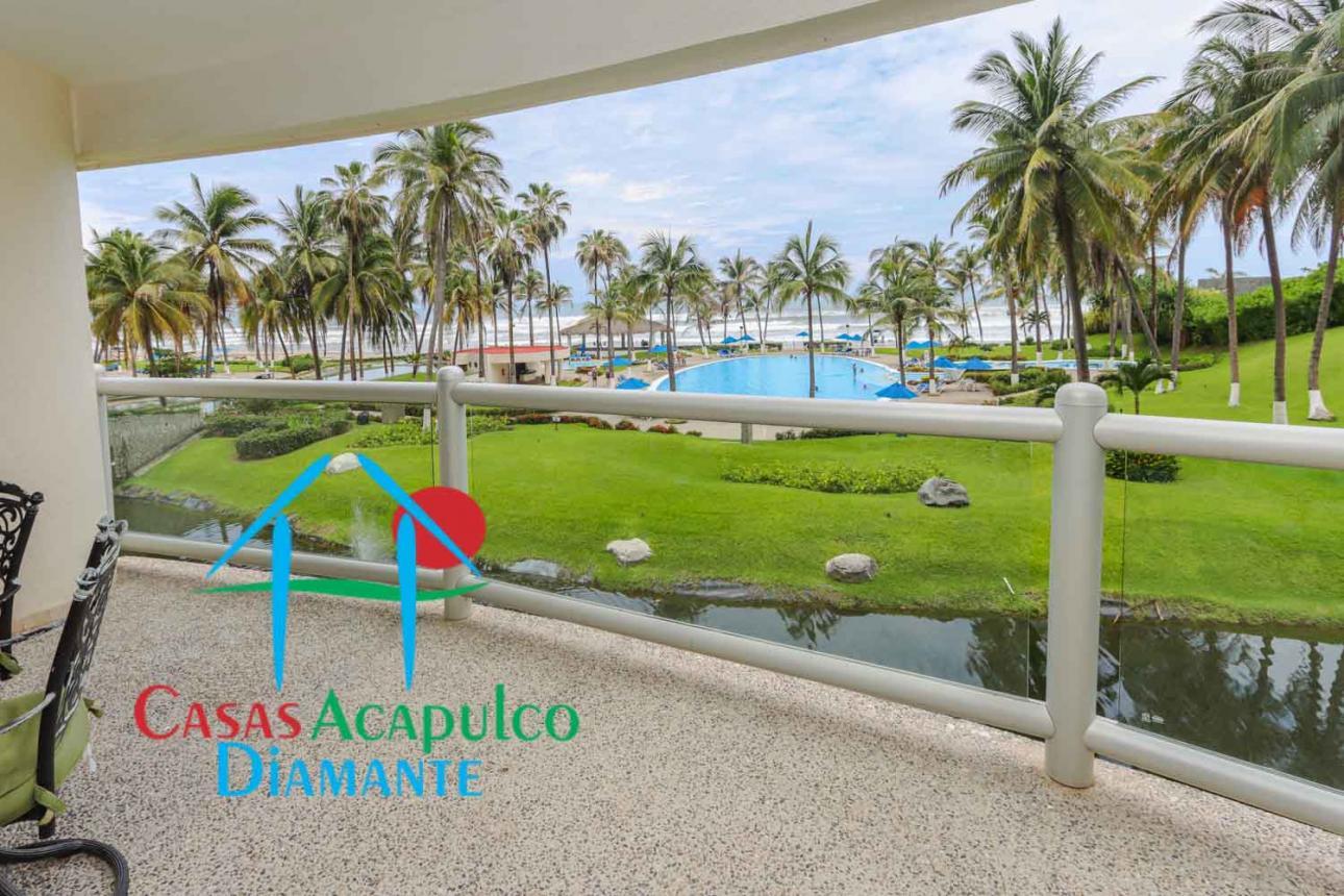 Venta de Departamento 2 recamaras en Acapulco Fraccionamiento Playa Diamante