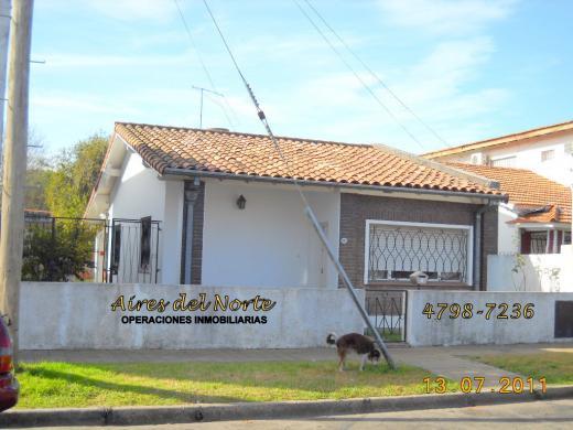 Venta de Casa 3 ambientes en San Isidro Villa Adelina