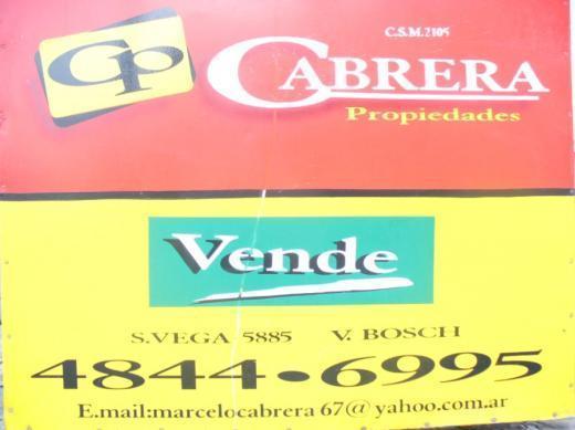 Venta de Lote De 300 a 500 mts. en Tres De Febrero Martín Coronado