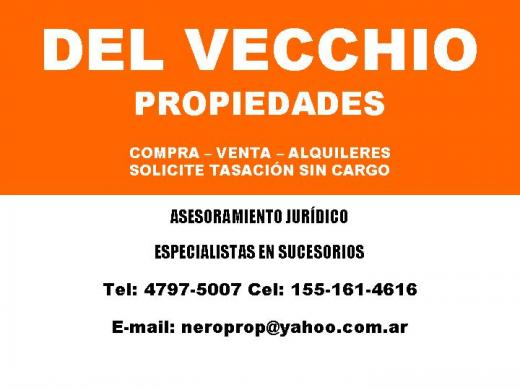 Alquiler de Departamento 2 ambientes en Vicente López Vicente López