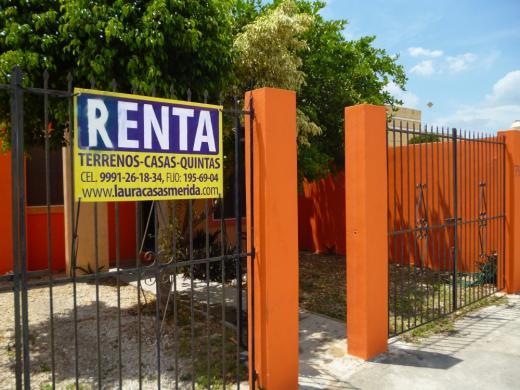 Alquiler de Casa en   Mérida