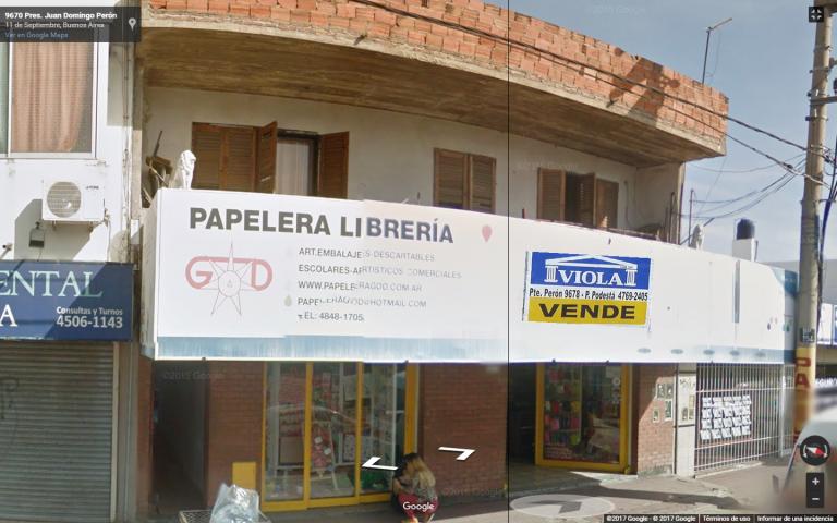 Venta de Loc. con vivienda Indistinto en Tres De Febrero Pablo Podesta