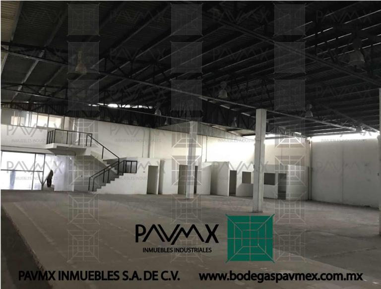 Alquiler de Galpón Más de 500 mts. en Cuautitlán Izcalli Parque industrial Xhala