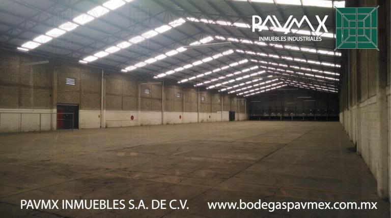Alquiler de Galpón en Parque industrial Xhala   Cuautitlán Izcalli
