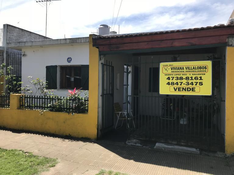 Venta de Casa 4 ambientes en General San Martín Loma Hermosa