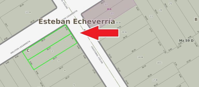 Venta de Lote / Lote en B.cerrados en    Esteban Echeverría