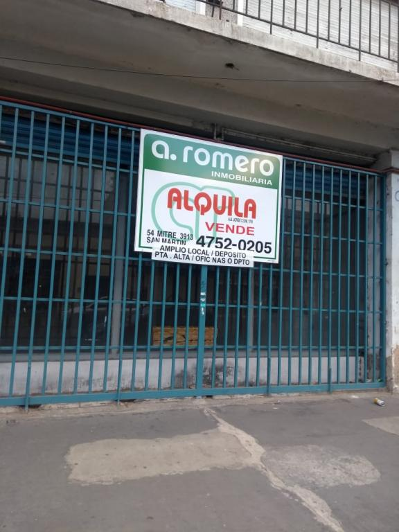 Alquiler de Local en San Andres   General San Martín