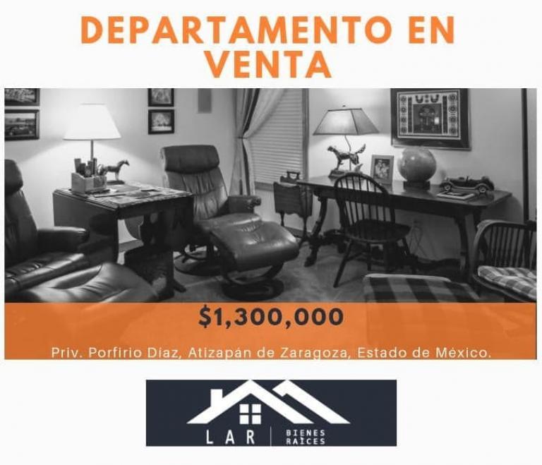 LAR´s,  de Departamento en Fraccionamiento Rinconada de las Arboledas   Atizapán de Zaragoza