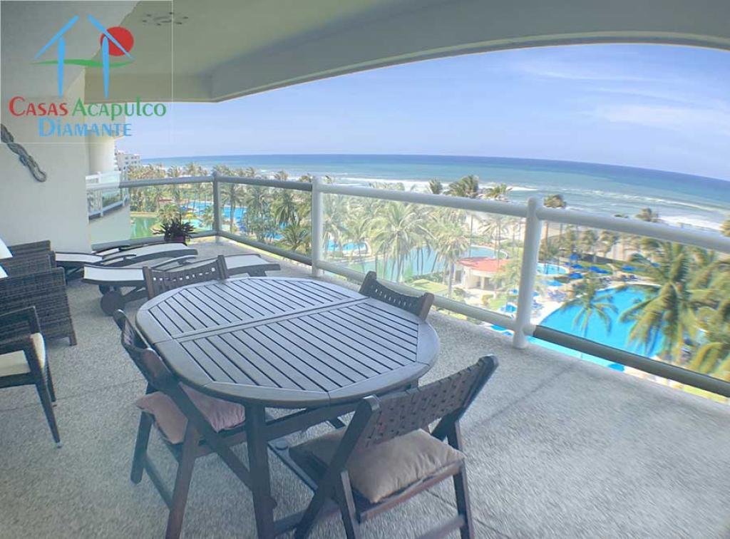 Alquiler Temporal de Departamento 5 o mas ambientes en Acapulco Fraccionamiento Playa Diamante