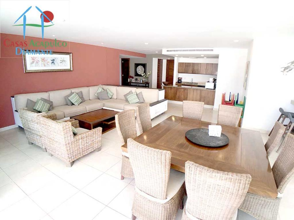 Alquiler de Departamento 5 o mas ambientes en Acapulco Granjas del Marqués