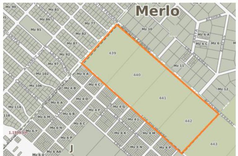 Venta de Lote De 200 a 300 mts. en Merlo Merlo
