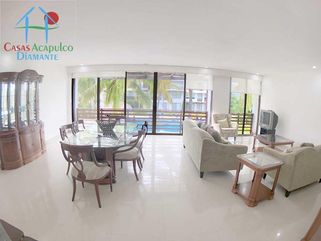 Venta de Departamento 5 o mas ambientes en Acapulco Granjas del Marqués