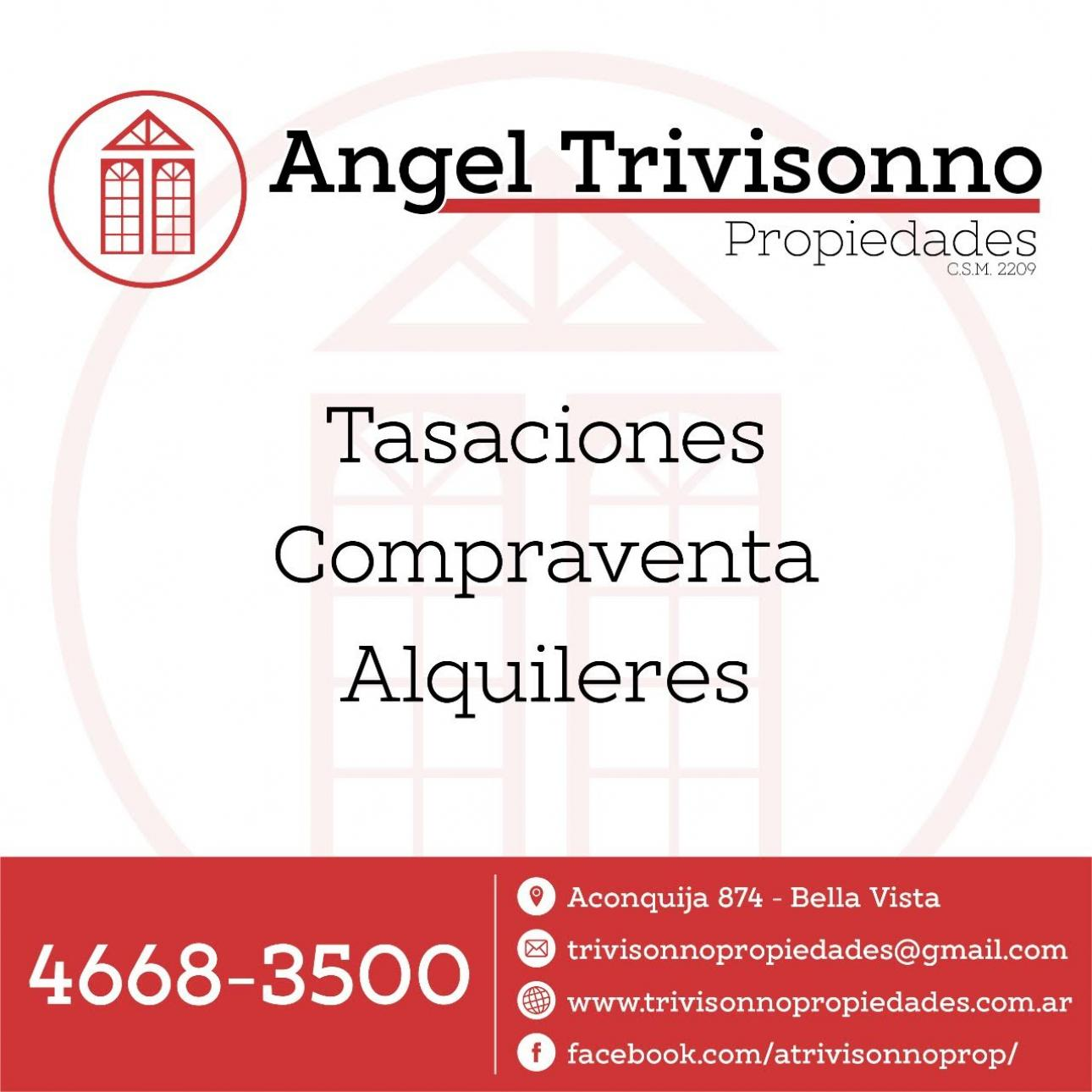 Angel Trivisonno Propiedades,  de Departamento en Bella Vista   San Miguel