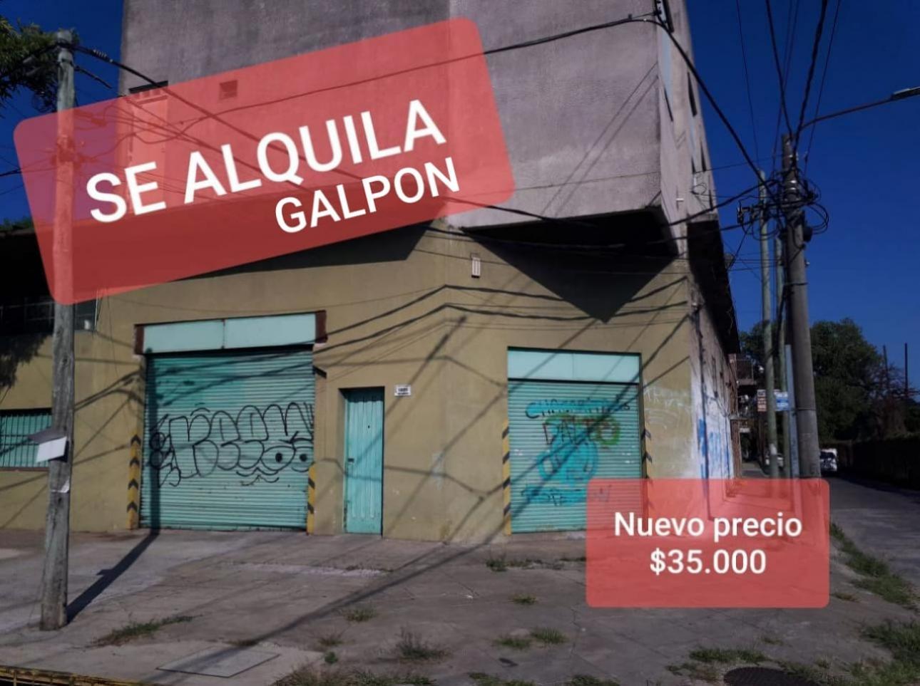 Alquiler de Galpón en Santos Lugares   Tres De Febrero