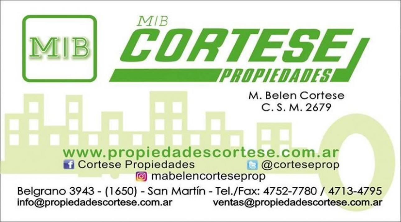 Venta de Local Entre 30 y 60 mts. en Tres De Febrero Martín Coronado