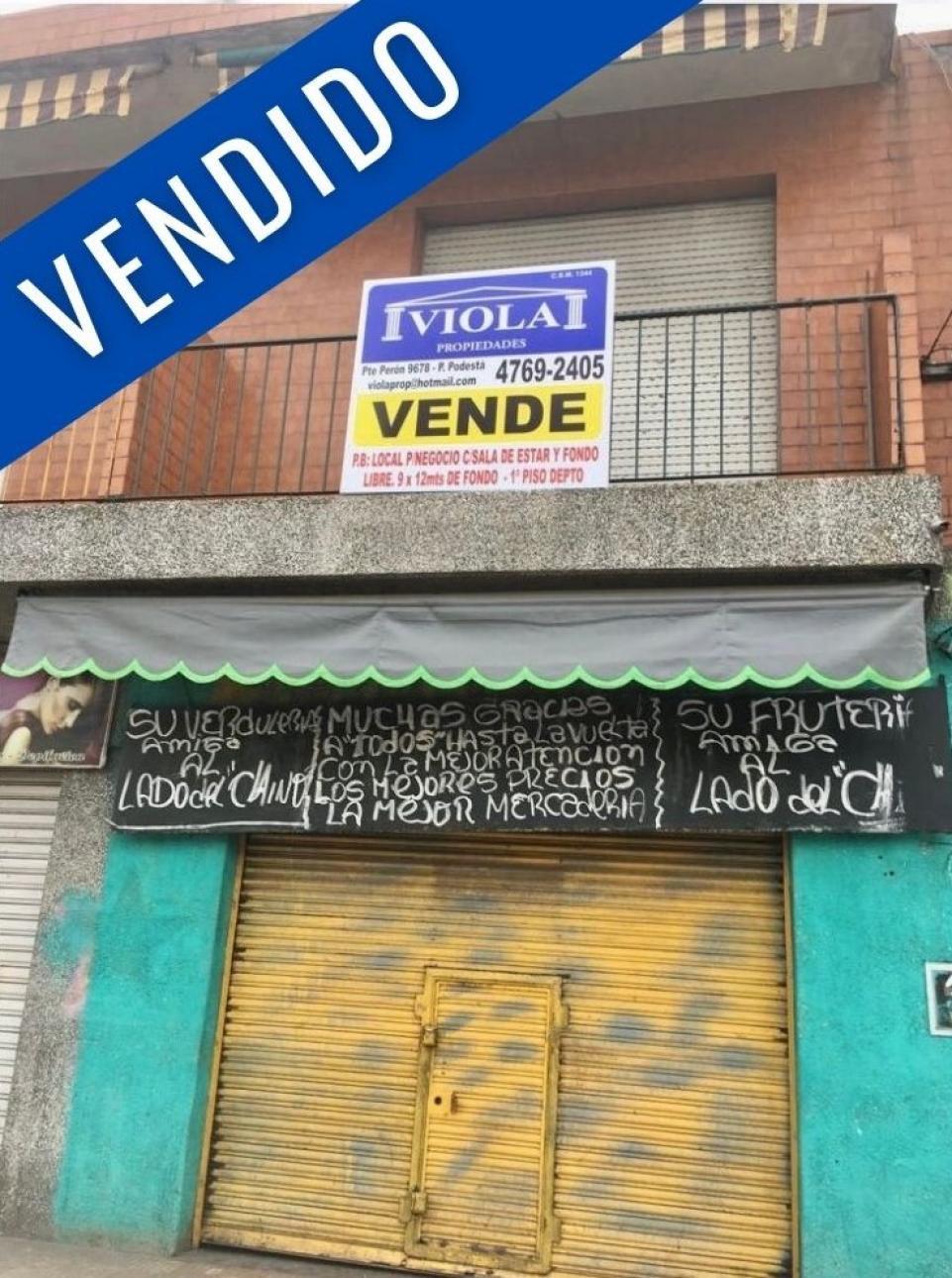 Venta de Departamento 1 ambiente en Tres De Febrero Pablo Podesta