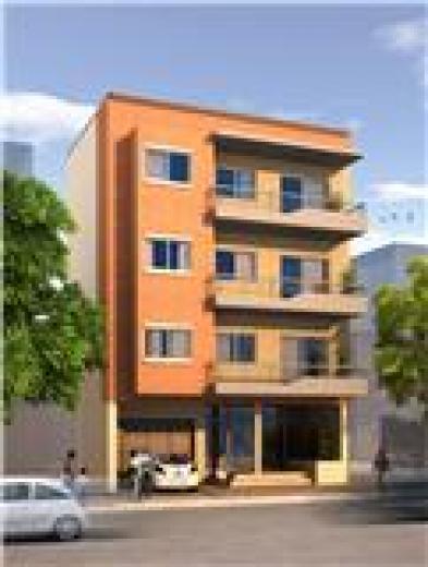 Edificio a estrenar semipisos 3 amb y deptos 2 amb for Fachadas de departamentos